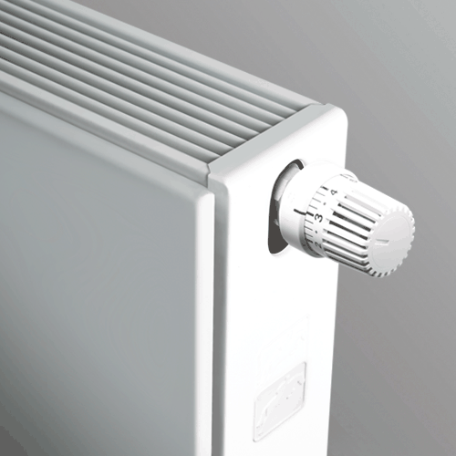 montage Brugman radiator