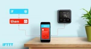 Draadloze thermostaat met wifi installatie